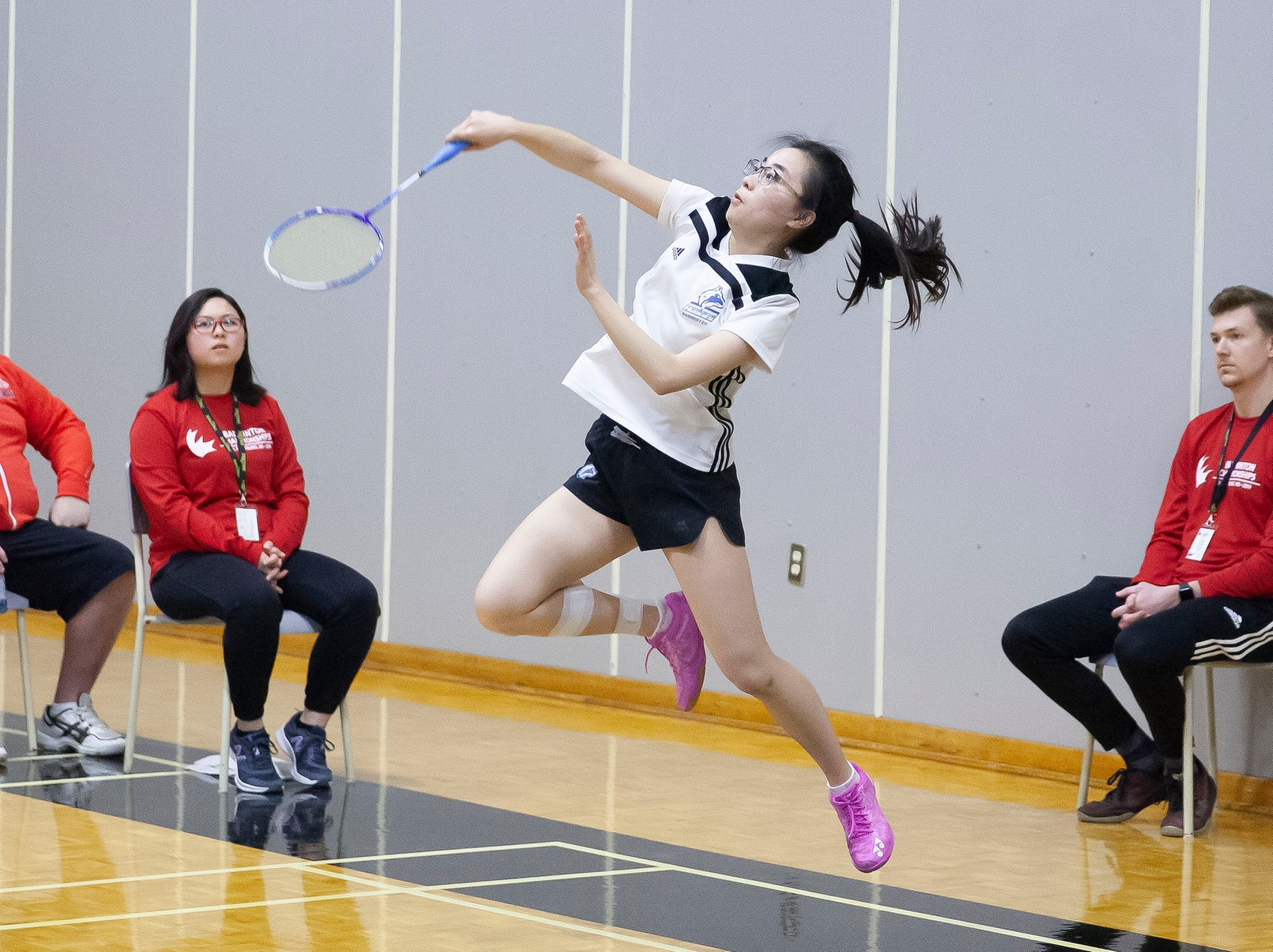 PAIR OF NATIONAL SILVER MEDALS CAP SUCCESSFUL 2018/19 CAMPAIGN FOR HUSKIES BADMINTON