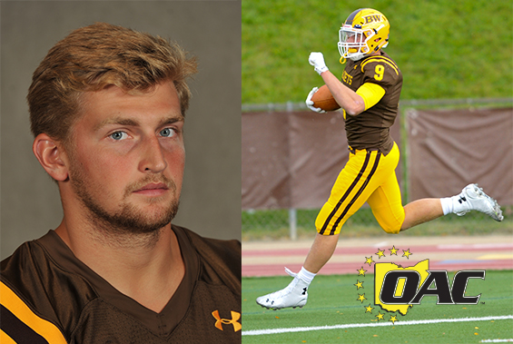 Luke Riemenschneider Named OAC defensive Player of the Week for second straight week