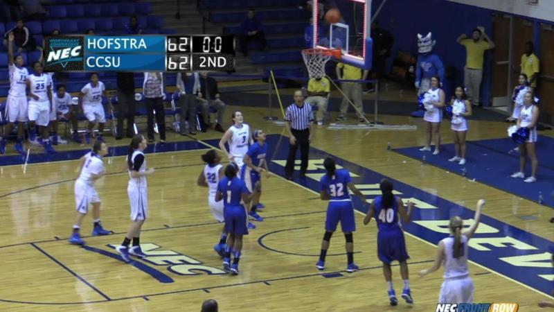 Women's Basketball Tops Hofstra at the Buzzer
