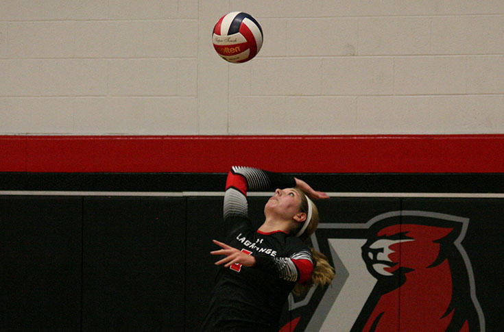 Volleyball: Panthers cruise by Wesleyan; sweep match 3-0