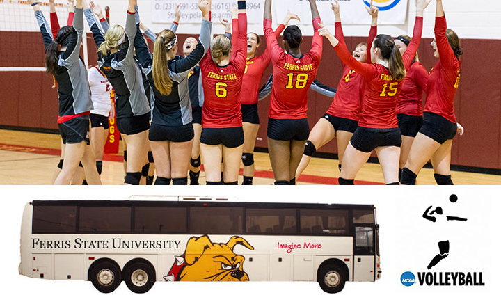 Potential Student Bus Trip To Be Offered For NCAA Volleyball Regional Semifinals