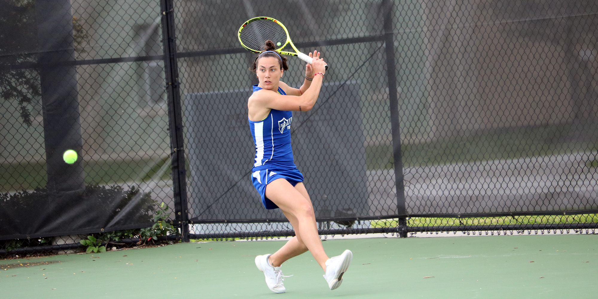 Women's Tennis Tops Tampa in Sunday SSC Showdown