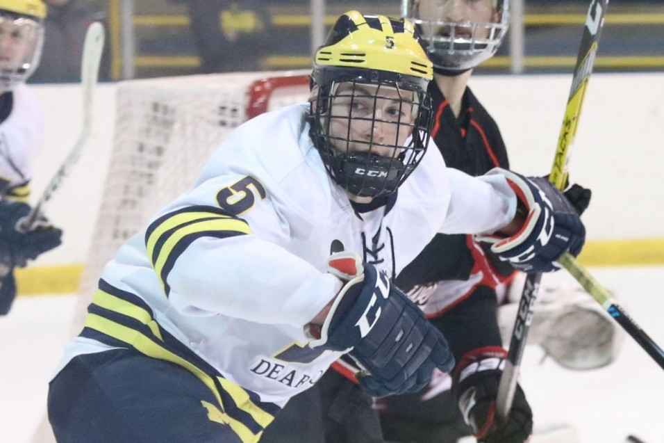 Photo for Wolverines conquer No. 1 Minot State in Shootout