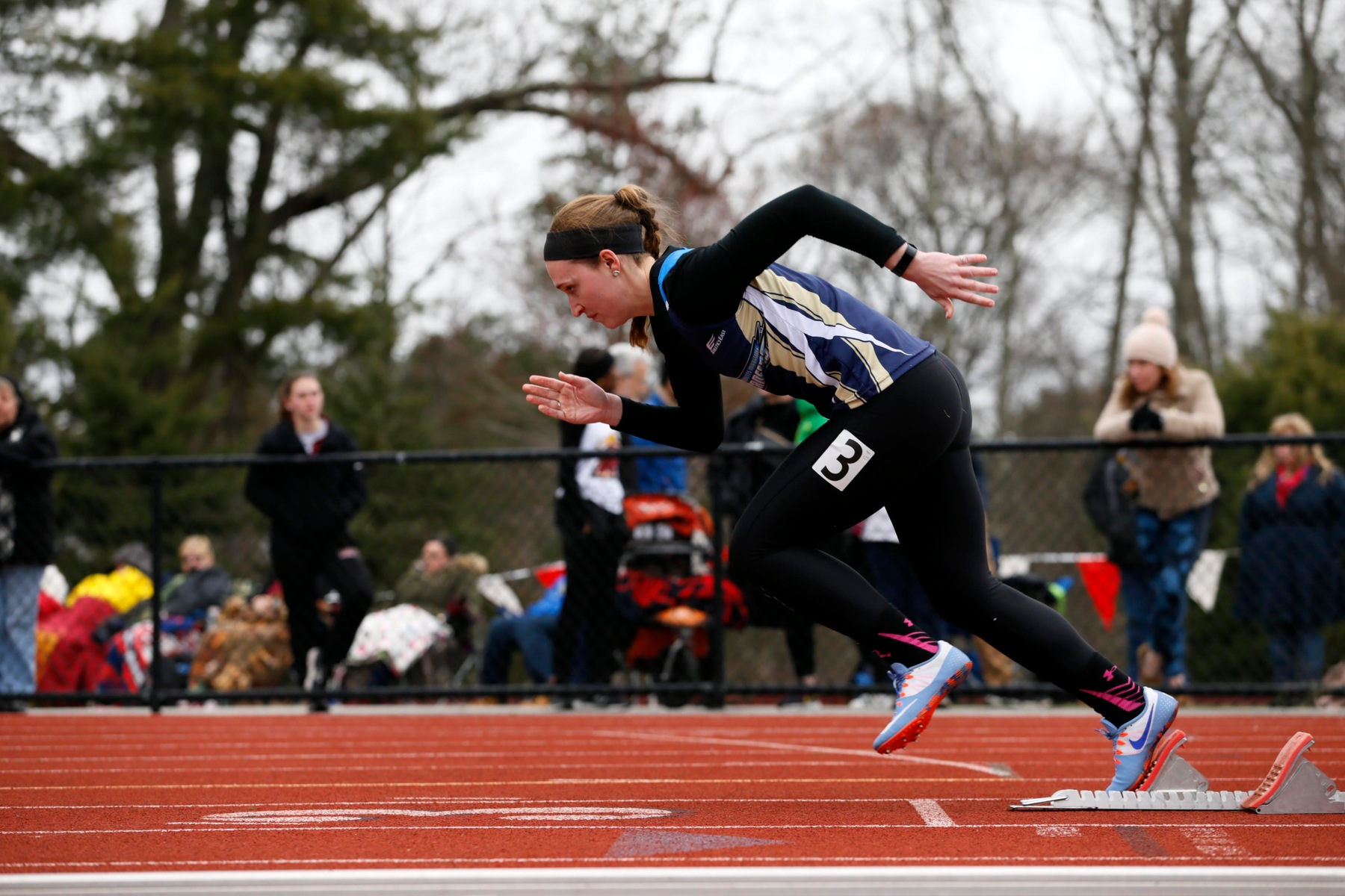 Track & Field Finish Regular Season at ECSU and MIT before MASCAC Championships; McCabe Does it Again
