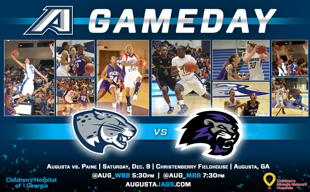 Augusta Basketball Hosts First Doubleheader Dec. 9 With Paine College