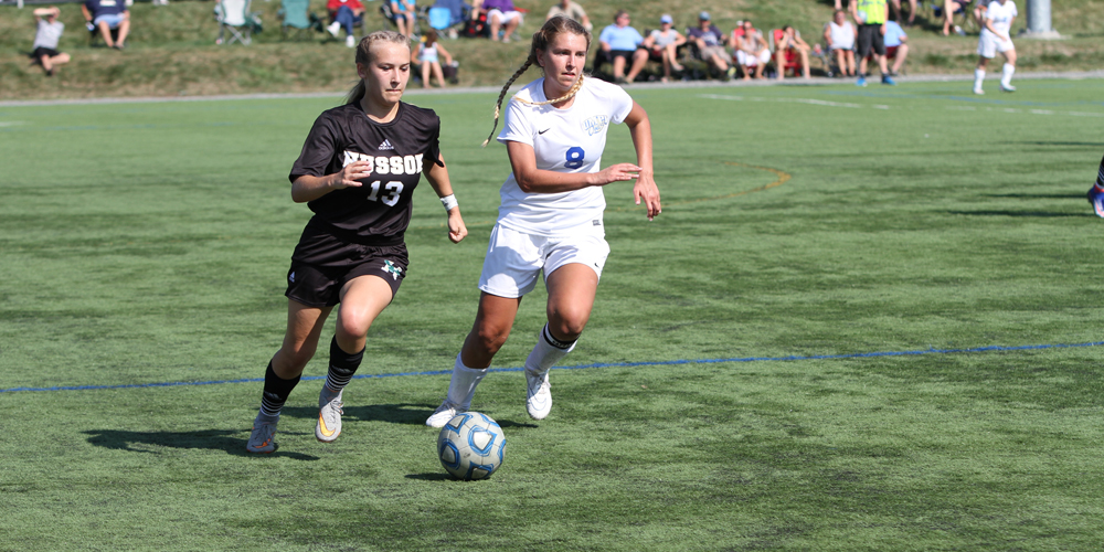 Eagles Drop Road Game to UNE, 4-0