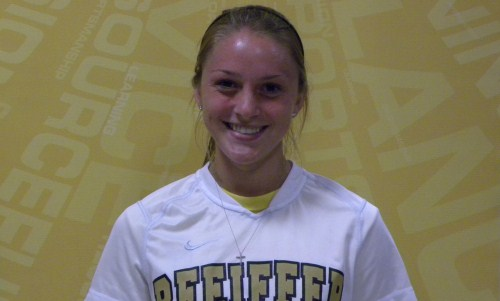 Maykut Named to Conference Carolinas All-Tournament Team for Women's Soccer