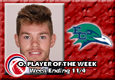 Riley Shanley-Endicott, CCC Football: Offensive Player of the Week
