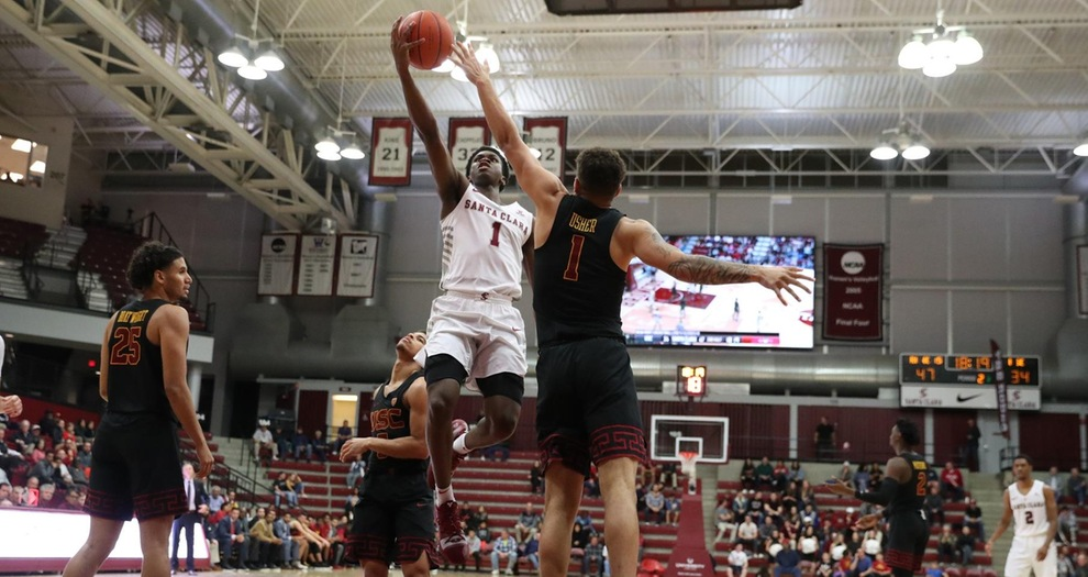 Men's Basketball Claims Gritty Double Overtime Win Over USC