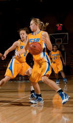 Despite 14 Points from Valentine and Johnson, UCSB Falls to Kentucky