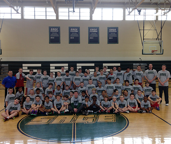 Sage Boys' Spring Break Camp wraps another successful week!