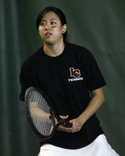 Women's Tennis Opens Season With 8-1 Victory