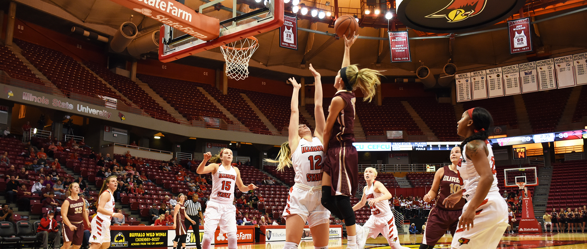 Red Devils Drop Division I Exhibition at Illinois State, 80-54