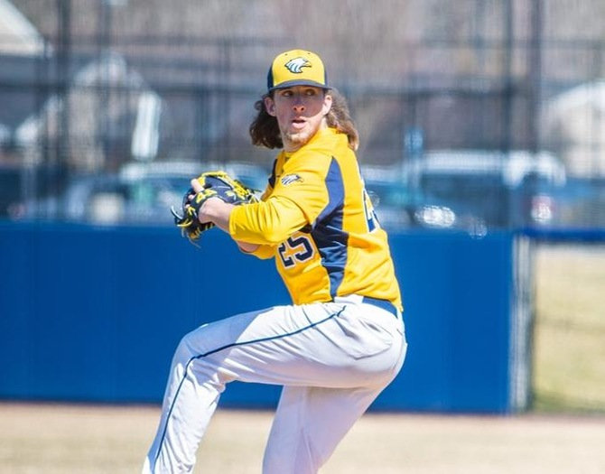 Murphy Goes the Distance in Baseball's 2-1 Victory over Amherst