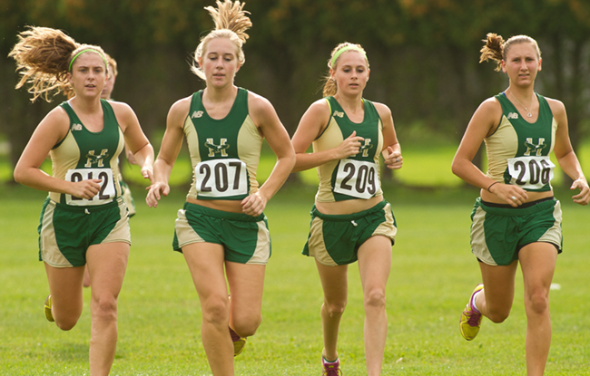 Husson Women's Cross Country Wins Mayflower Kickoff Meet