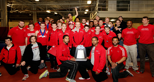 LC Men's Track Wins 16th Consecutive ODAC Indoor Title