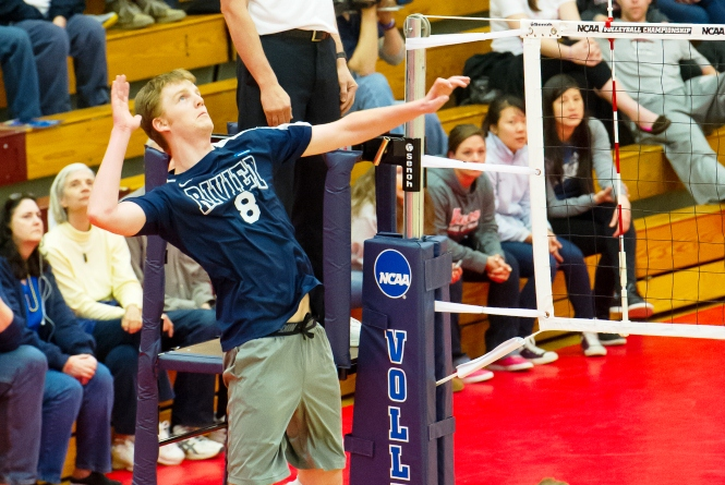 Don't Call it an Upset... #8 Men's Volleyball takes down #1 Springfield