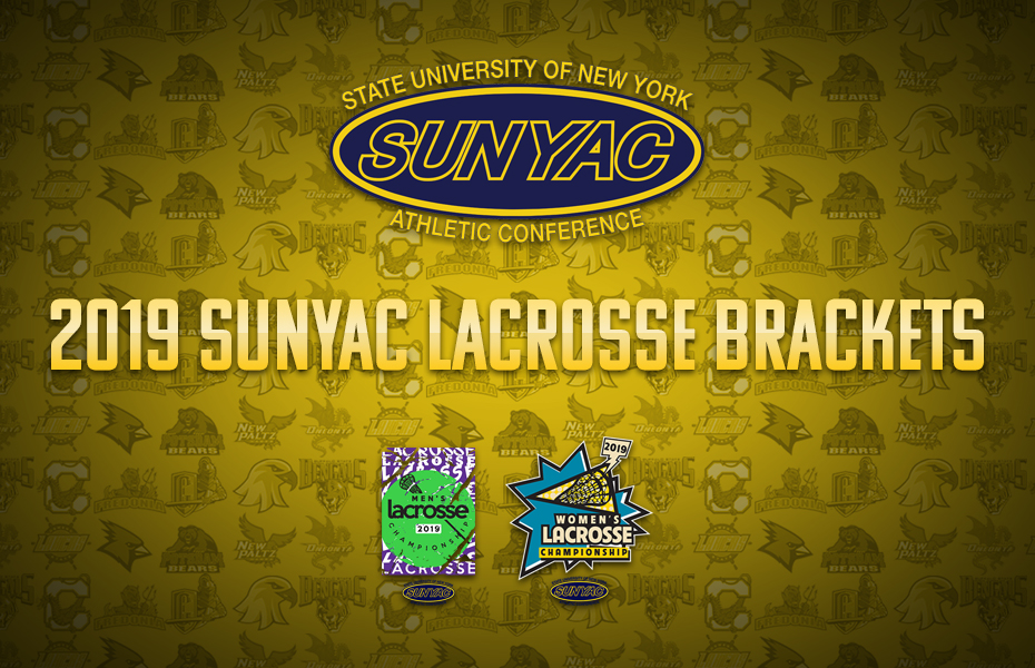 2019 Men's and Women's Lacrosse Brackets set