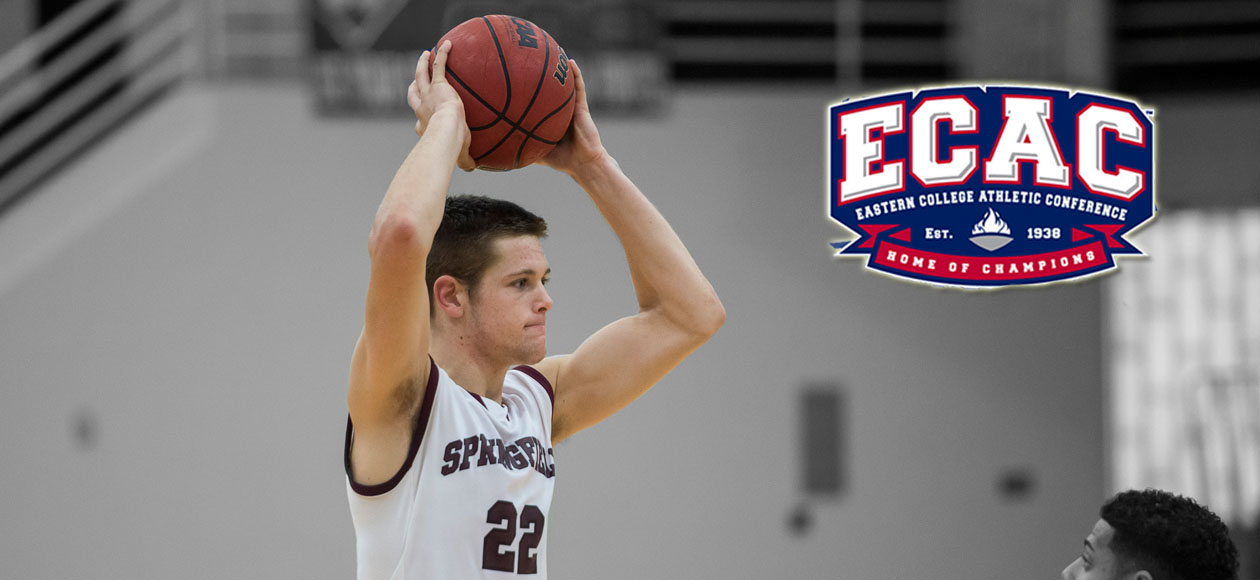 Ross Snags Fourth-Straight ECAC New England Men's Basketball Rookie of the Week Honor
