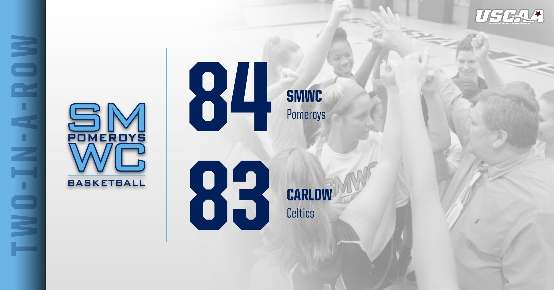 The Woods Takes Down Carlow University; Jarrett's 3-Pt Basket Seals the Victory
