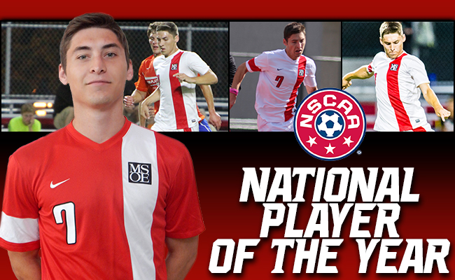 Andryk Named NSCAA National Player of the Year