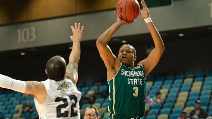 MEN'S BASKETBALL ADVANCES IN BIG SKY TOURNAMENT AFTER 79-75 WIN