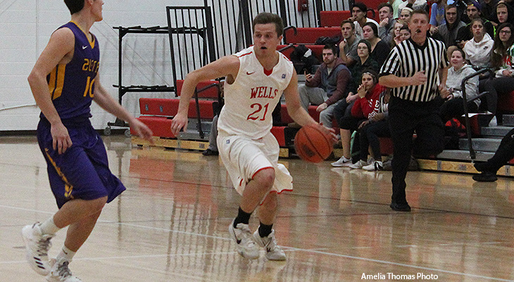 Houghton Takes Men's Basketball Win Over Wells