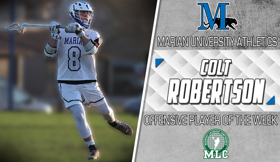 Colt Robertson player of the week graphic.