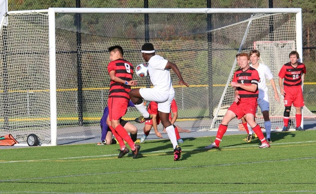 Claude Tuyishimire (11) scored the lone goal for Keuka College