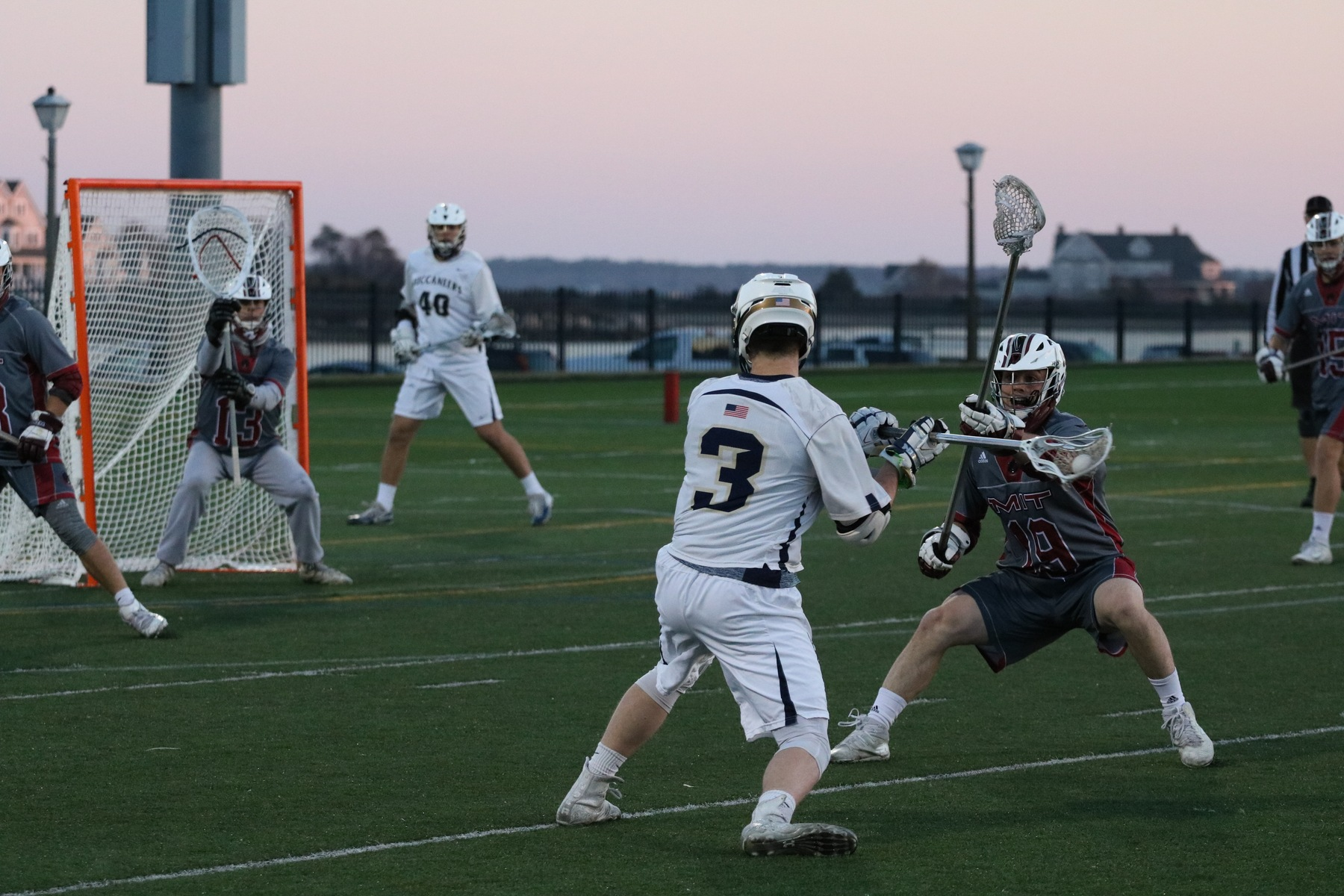 Avakian Records 100th Career Point as Buccaneers Ground the Falcons