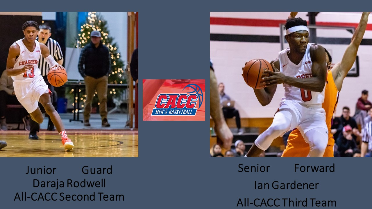 RODWELL AND GARDENER NAMED TO ALL-CACC MEN'S BASKETBALL TEAMS