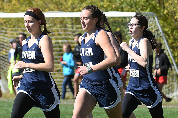 Women's Cross Country: Ferentino, Raiders compete at Suffolk Invitational