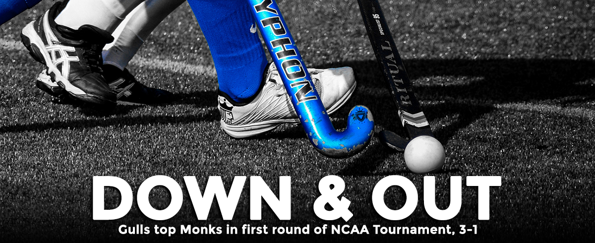 Monks Fall to Gulls in NCAA First Round, 3-1