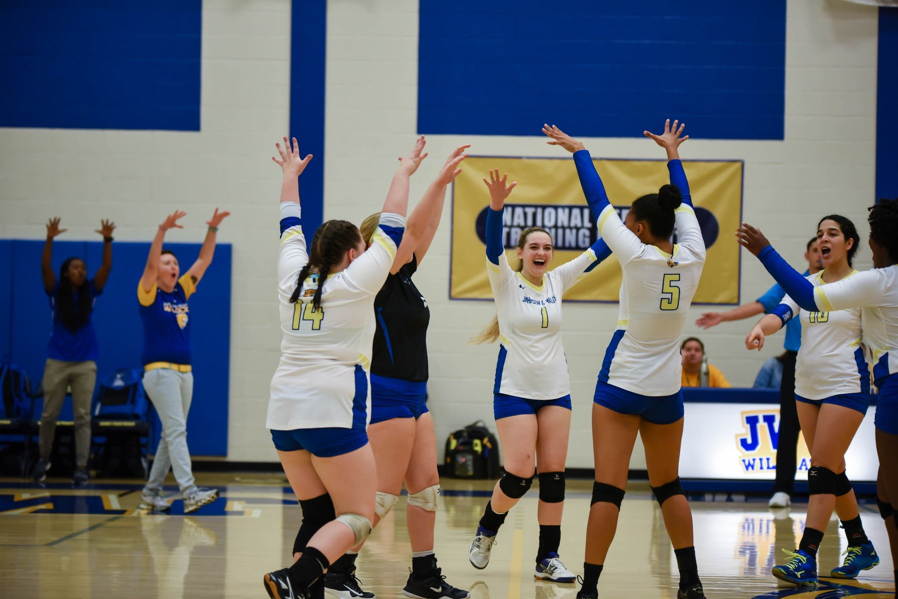 JWU Volleyball Puts in Commanding Performance in Sweep over Livingstone
