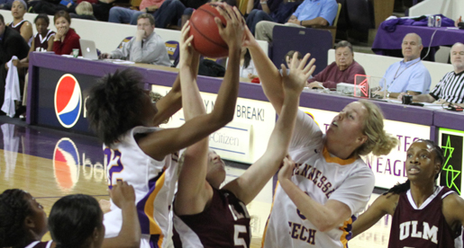 Golden Eagle women fall to ULM Warhawks