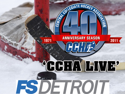 'CCHA Live' Debuts On Fox Sports Detroit This Saturday