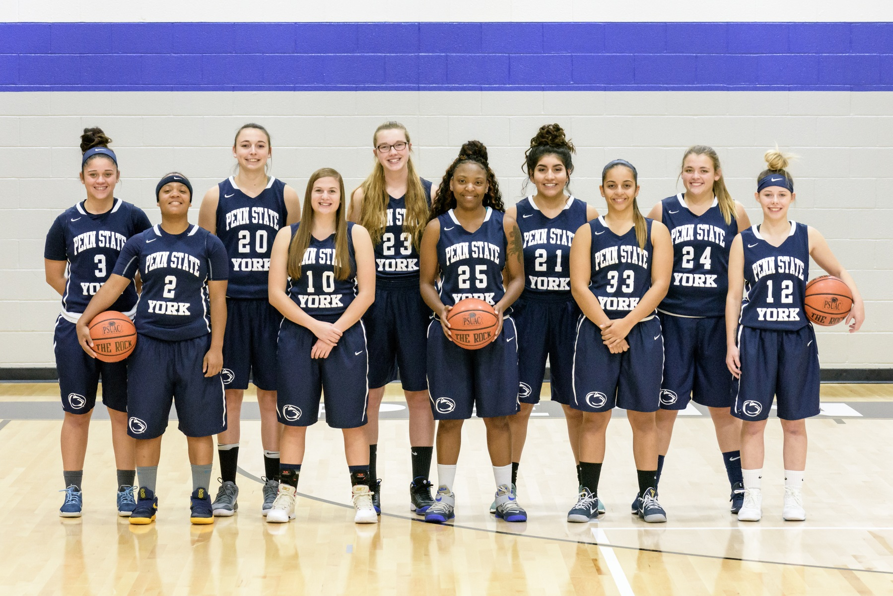 2017–18 Penn State York Women's Basketball
