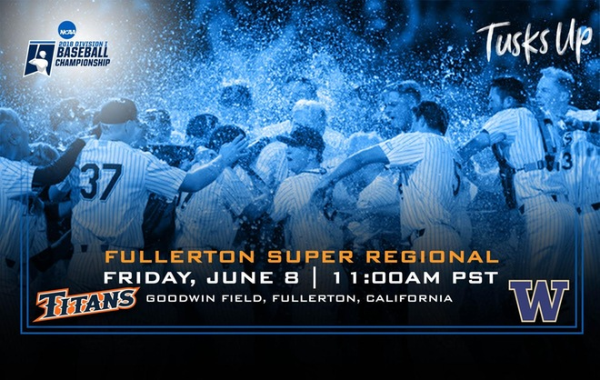 Titans Set to Host 10th Super Regional in Program History this Weekend at Goodwin Field