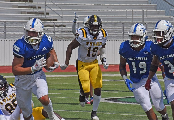 Blinn Football Falls To Tyler, 37-31