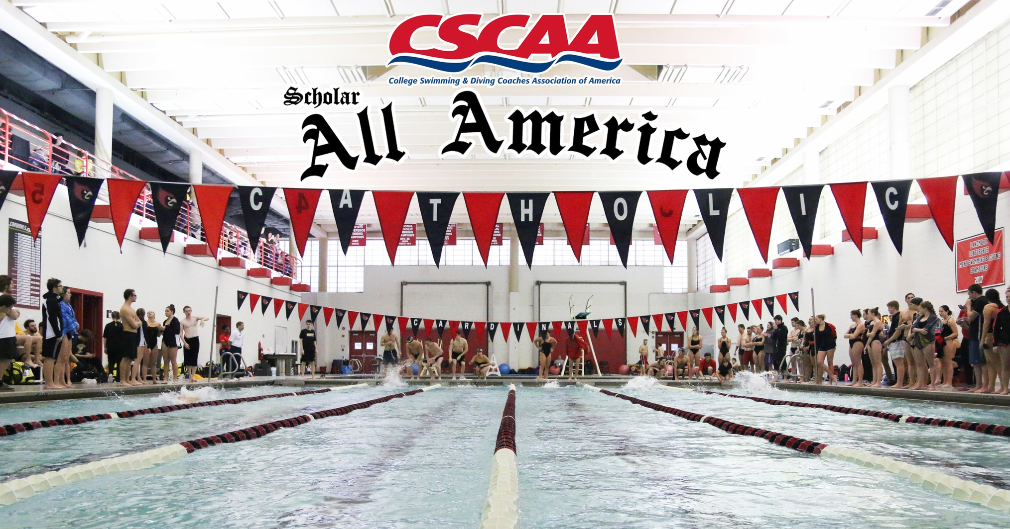 Swimming Teams Receive CSCAA Scholar All-America Honors