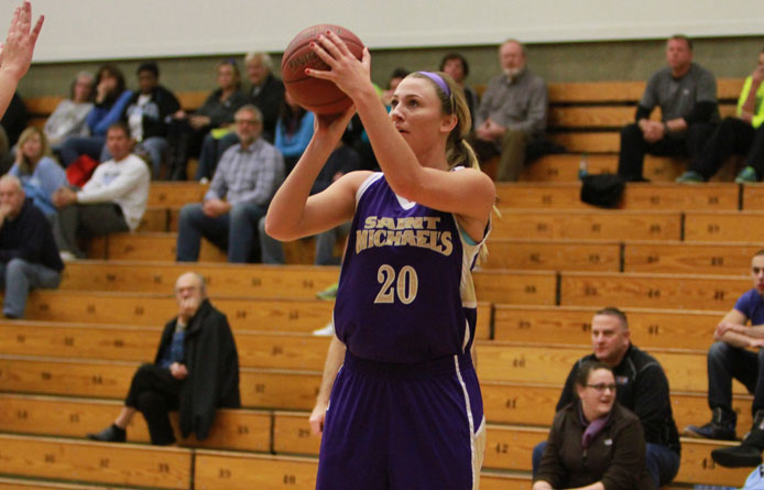 Women's basketball falls at regionally-ranked Assumption