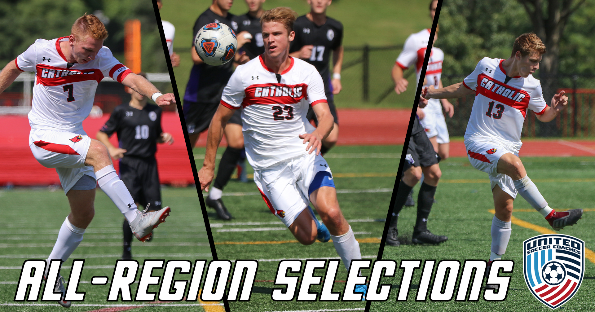 Cardinals Earn Three All-Region Selections
