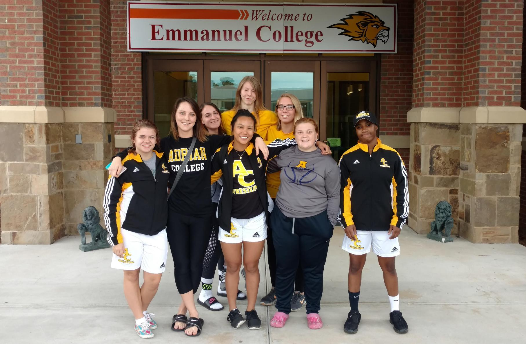 Women's Wrestling Begins Bill Schindel Era with Three Individual Placers at the Emmanuel College Open