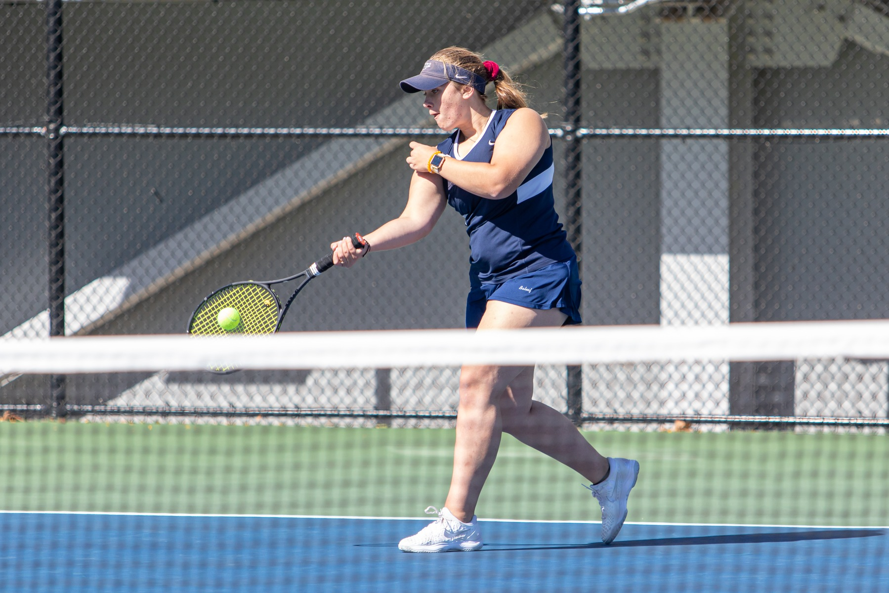 Hartwig Wins at Singles as Women's Tennis Wraps Up Home Slate Against Manhattanville