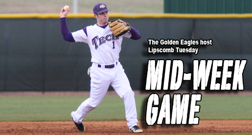 Golden Eagles host Lipscomb Tuesday