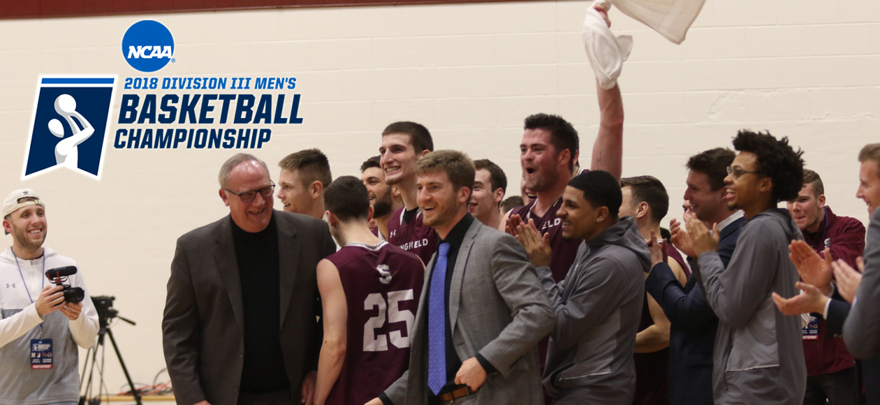 FINAL FOUR CENTRAL - Springfield College Headed To NCAA Division III Men's Basketball Championship Weekend