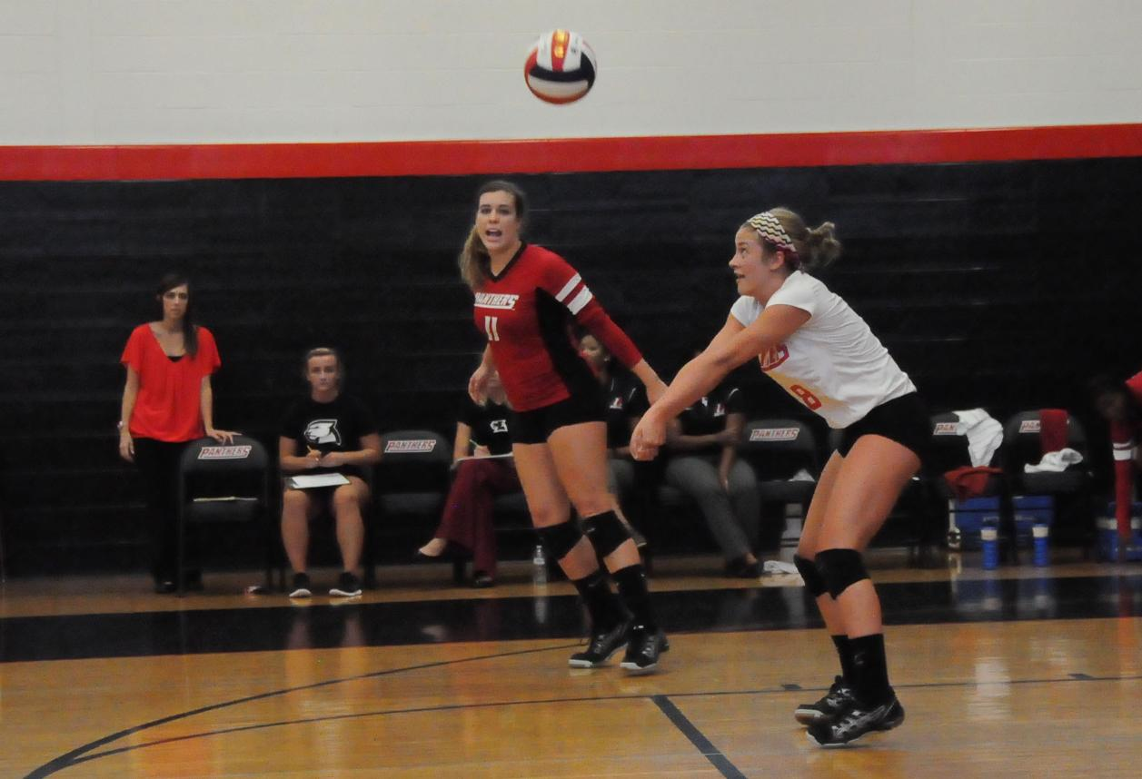 Volleyball: Panthers edge North Carolina Wesleyan in USA match