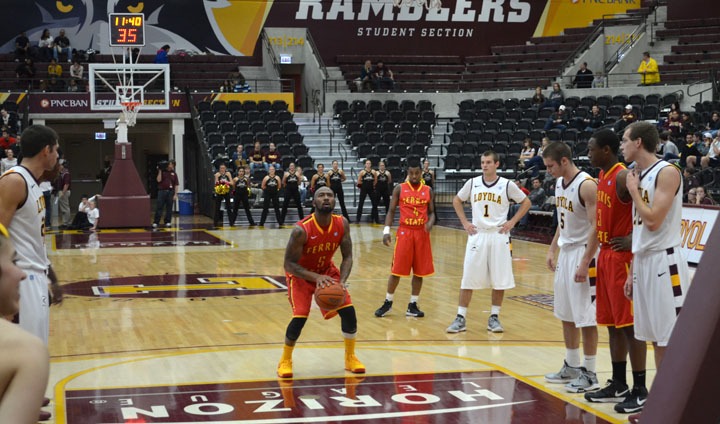 Men's Basketball Drops Exhibition Game At D1 Loyola