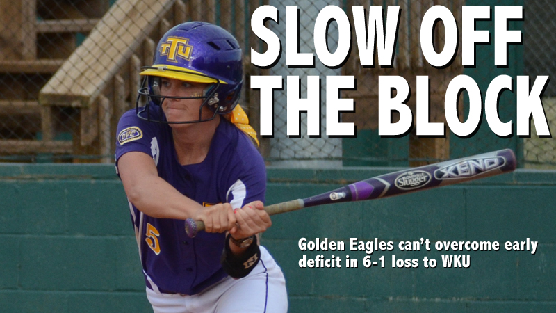 Slow start costs Golden Eagles in 6-1 loss to Western Kentucky