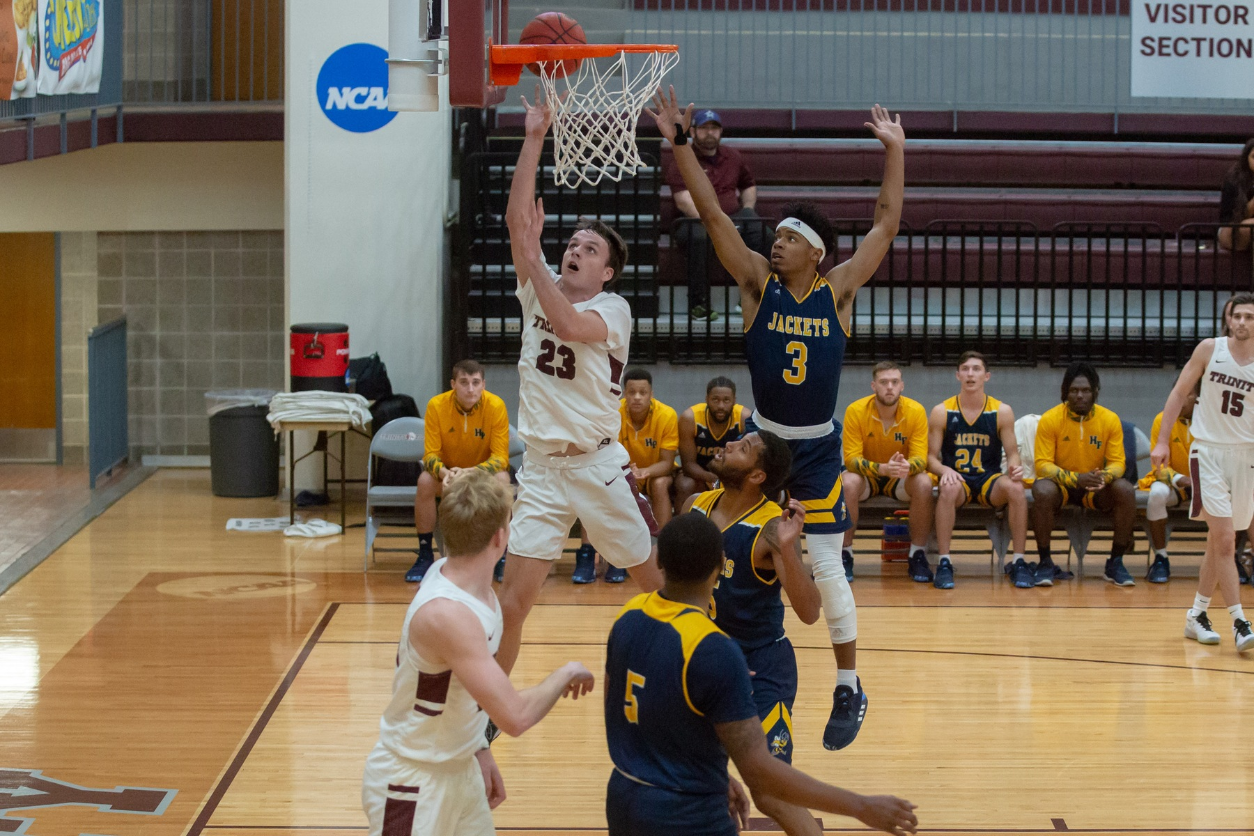 Tiger Men's Basketball Beats Howard Payne in Home Debut